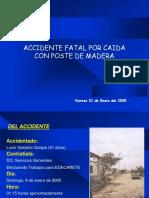 Accidente Fatal Edecañete Enero 2005
