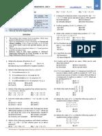 Mathematics - Problem Sheet Level 2.pdf