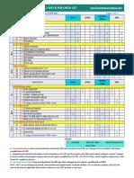 WPS PQR CHECK LIST TABLE 2017
