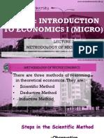 Methodology of Microeconomics (New)