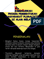 Proses Pembentukan Masyarakat Pluralistik Di Alam Melayu