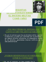 Preguntas Inferenciasles Sobre El Docenio Militar (1)