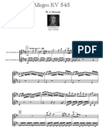 Clarinet Institute Mozart Sonata K. 545