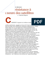 Video Resistance Al Heure Des Satellites