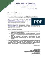 Regulation 7 of SEBI (Prohibition of Insider Trading) Regulations, 2015