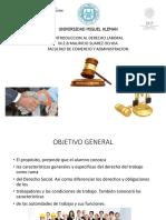 Derecho Laboral Primer Sesion