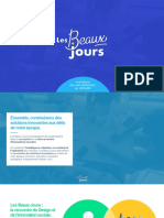 Présentation de l'agence d'innovation sociale Les Beaux Jours
