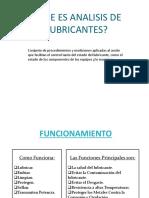 Analisis lubricantes presentacion
