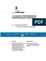 Modul 4 Sejarah Perekonomian Indonesia