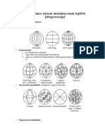 A Magyar Himes Tojasok Mintakincse -Rajz-geometria