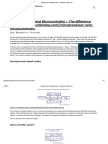 Microprocessor and Microcontroller - A Comparison of Differences