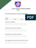 Ficha Estudiante