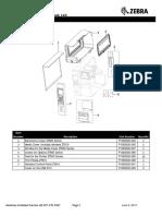 ZT610 Parts Catalog