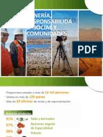 MINERÍA, RESPONSABILIDAD SOCIAL Y COMUNIDADES
