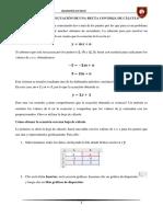 Cómo Hallar La Ecuación de Una Recta Con Hoja de Cálculo