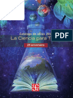 Catalogo 2011 Ciencia Para Todos