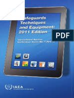 IAEA SafeGuard TEchniques and Equipment 2011