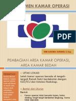 Manajemen Kamar Operasi