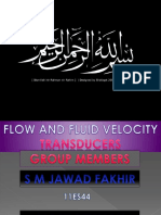 Flow and Fluid Velocity