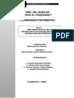 Informe Final Implementacion de Fuente Regulada