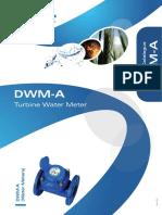 DWM-A Turbine Water Meter