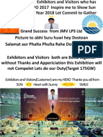 Thanks You All for Visiting REI EXPO 2017 at Greator Noida Exibition (20th-22nd Sept 2017)