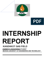 Internship Report Muzzamil
