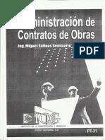 Administración de Contrato de Obras Parte_1