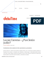 Lucas Carena – ¿Fue Jesús Judío_ _ Debatime - Un Sitio Para Intercambiar Ideas
