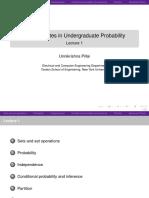 UG Probability Lect 1 2 Slides