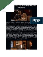 O Machismo de How I Met Your Mother