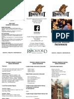 graphic design pathway brochure