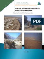Evaluacion de Agua Subterranea Del Acuifero Asia - Omas 0