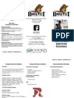 human services pathway brochure