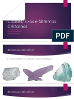 2_Classes, Eixos e Sistemas Cristalinos