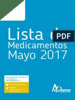 Lista de Medicamentos MAYO-2017-WEB