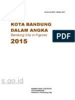Kota Bandung Dalam Angka 2015