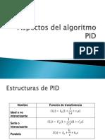 Aspectos Del Algoritmo PID