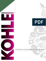 Catalogo Residencial Kohler