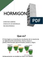 HORMIGON