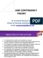 3 System and Contingency Theory (Erna)