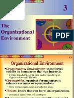 Chap03 the Organizational Environment