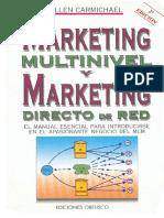 Allen CARMICHAEL _MKT Multinivel y MKT Directo de Red