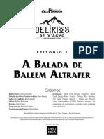 DX1 - A Balada de Baleem Altrafer