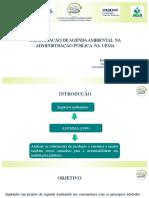 Implantação de Agenda Ambiental Na UEMA