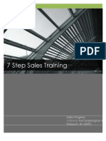 7 Step Sales Training Strategy