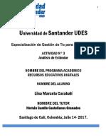 Universidad de Santander UDE3