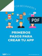 Apps Primeros Pasos ES
