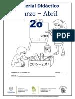 2o Material de Apoyo Mar - Abr. 2016-2017