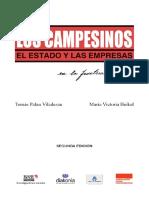 Los Campesinos El Estado y Las Empresas - Tomas Palau - Segunda Edicion - Ano 2016 - Base - Portalguarani